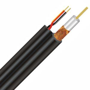 China RG Series RG59+18-2 AWG 75 Ohm Coaxial Cable (Power Cable/Coax ...