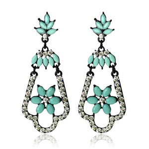Trendy Bohemia Style Resin Stone Earring (XER13099) pictures & photos