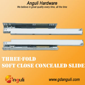 Single Extension Soft-Closing Concealed Slides pictures & photos