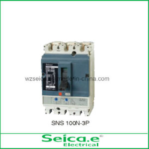 2014 Popular Use Electrical Ns Series MCCB 100n-3p