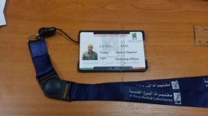 Corporate Staff Logo Printed Safety Buckle Lanyard with ID Badge pictures & photos