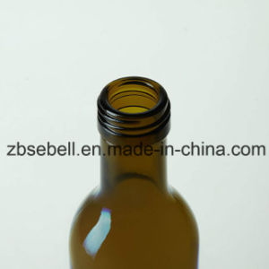 Olive Oil Glass Bottle, Round -250ml, 500ml, 750ml Dark Green (02-oil bottle) pictures & photos