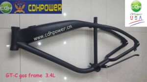 Aluminum 3.4L Gas Tank Frame, Square Bike Frame with 3.4L Gas Tank pictures & photos