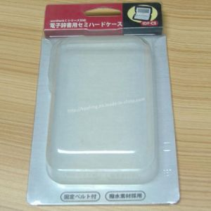 Transparent Plastic Clamshell Electronic Dictionary Packing pictures & photos