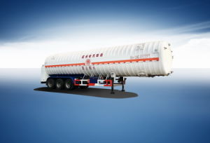 Fuel Tank Trailer for LNG
