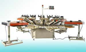 Semi Automatic Carousel Silk Screen Printing Machine Price pictures & photos