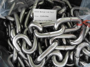 Stainless Steel 316 Short Link Chain with Ce Certification pictures & photos