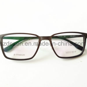 Low Price China Wholesale Titanium Eyeglass Frame Optical Frame pictures & photos