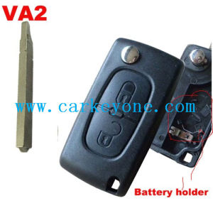 China 2 Button Remote Key Shell with Battery Place for
