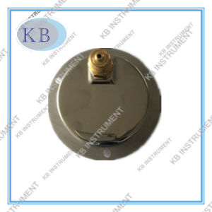 "2.5"" Low Back Connection Manometer with Front Flange pictures & photos"