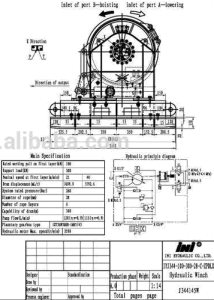 Ini 100kn 10 Ton Two Speed Ship Anchor Windlass and Mooring Winch pictures & photos