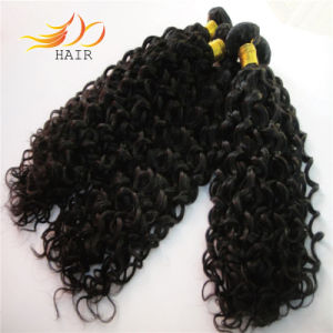 6A Jerry Curl Hair Weft Virgin Brazilian Human Hair pictures & photos