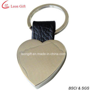 Custom Logo Blank Heart Shape Keychain for Advertising