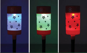 Solar Xmas Maker Light with 1 RGB LED pictures & photos