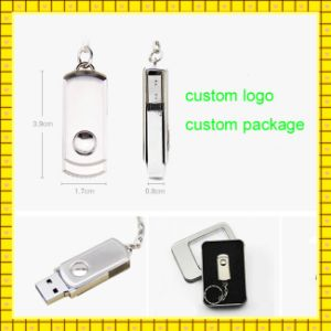 Custom Swivel USB Pen Drive 4GB 16GB 1GB USB Flash Drive (GC-001) pictures & photos