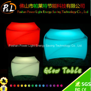 Christmas Party Furniture LED Table with 16 Color Changing pictures & photos