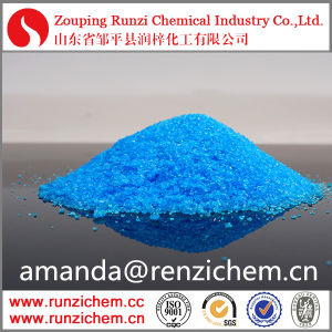 Runzi Brand Blue Vitriol Agriculture Fertilizer Copper Sulphate in Inorganic Saltsfob Reference Pr