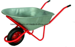 100L Capacity Metal Wheel Barrow for Agriculture&Construction