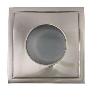 China Aluminum Casting Gu10 Mr16 Square Fixed Recessed