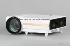 School Teaching LED LCD 1024X768 Projector 2500-3500 Lumens with USB Display