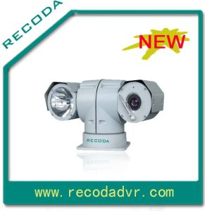 360 Degree Horizontal Free Rotating Vehicle PTZ Camera, Most Used on The Police Car.