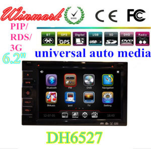 China Dh6527 2 Din 7 Inch Universal Car Dvd Player Car Radio With
