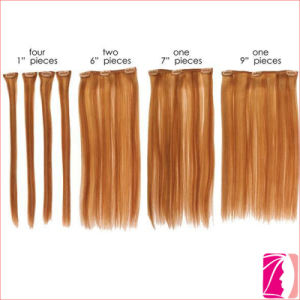 China 7A Quality Remy Weave Super Clip on Hair Extension