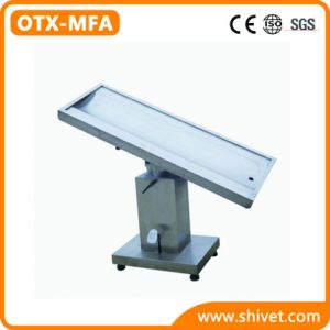 Multi-Function Veterinary Operating Table (OTX-MFA) pictures & photos