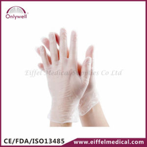 Medical First Aid PVC Vinyl Powdered Examination Gloves