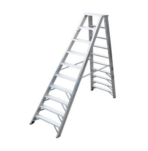 (375LBS) Aluminum Alloy Double-Side 10-Step Ladder pictures & photos