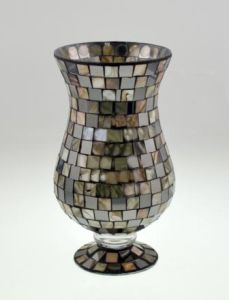 New Design Glass Mosaic Candle Holder pictures & photos