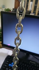 DIN766 Galvanzied Welded Link Chain pictures & photos