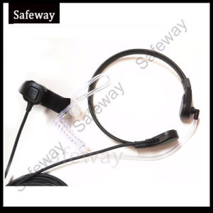 Throat Mic with Finger Ppt for Kenwood 2 Pins pictures & photos