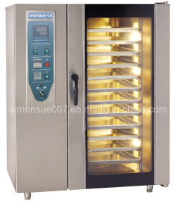 Stainless Steel Digital Control Panel Convenction Oven with CE