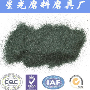 All Size of Green Silixon Carbide Powder with High Purity 98.5%Min Sic pictures & photos