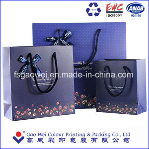 china luxury shopping paper bag different types design custom paper