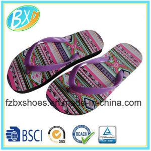 6cc846ad3cde China Women′s Flip Flops Bohemia Style Print Sandals Beach Slippers ...