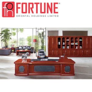 Modern Wood Luxury Office Desk Set For Company Office Use (FOH A8A261)