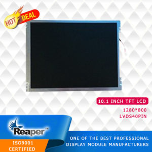 TFT LCD Screen 10.1 Inch 1280X800 Piexl TFT LCD Display with 40 Pin Lvds Interface pictures & photos