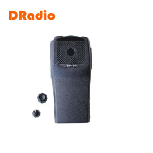 Front Casing Shell Repair Housing Cover Case for Motorola Ep450 Walkie Talkie Black