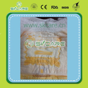 Baby /Adult Pull up Baby Diapers with Cloth-Like Film Dry Surface