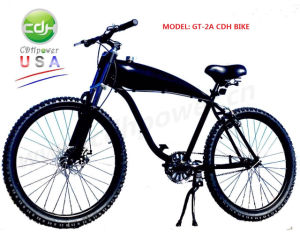 Cdh Motorized Bicycle with Spoke Wheel, 26′ Motorized Bicycle