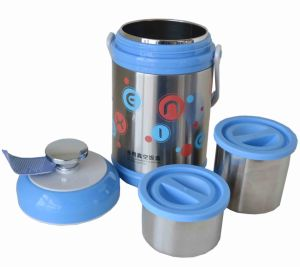 Stainless Steel Vacuum Thermos Vacuum Flask, Wide-Necked Thermos Flask pictures & photos