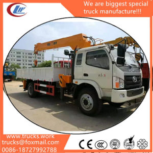 Clw 4*2 3tons Truck Lifting Crane with Forland Chassis pictures & photos