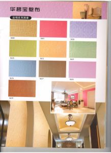 Fiber Glass Wallcovering Paper Decorative Materials H0102 pictures & photos