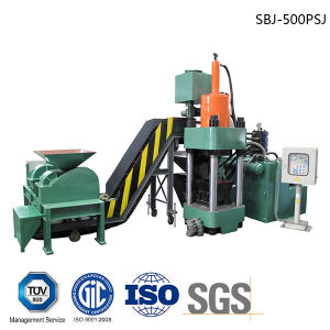 Briquetters Automatic Aluminum Iron Metal Scrap Hydraulic Press Recycling Machine-- (SBJ-500) pictures & photos