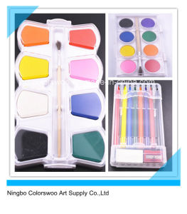 2.3cm*8 Colors High Quality Water Color Cake for Kids and Students pictures & photos