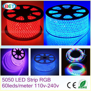 W/Ww/R/G/B/RGB/Y 120V/220V 50m/Roll LED Light Strip Outdoor Lighting Lamp pictures & photos