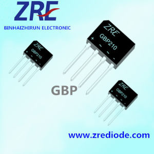 2A GBP Bridge Rectifier Diode GBP2005 GBP210 GBP Package pictures & photos