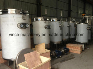 Stainless Steel Coil Type Uht Pasteurizer for Egg pictures & photos